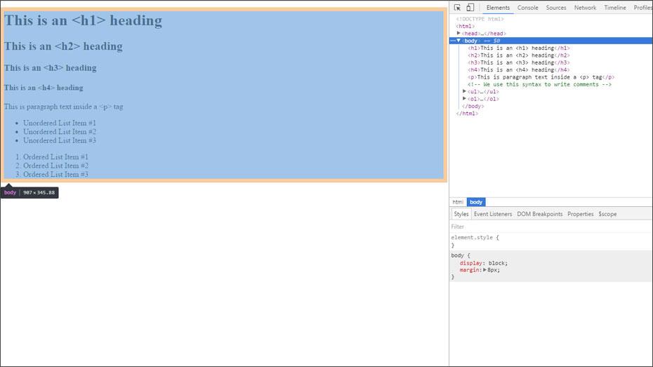 Web Development Lesson 1